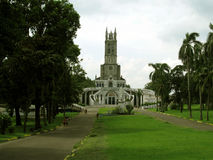 Nossa senhora de Lourdes Grotto Church, San Jose del Monte, Bulacan Imagem de Stock Royalty Free