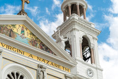 Nossa Senhora de Nazare Cathedral in Belem do Para, Brazil.  Royalty Free Stock Photo
