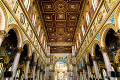 Nossa Senhora de Nazare Cathedral in Belem do Para, Brazil.  Royalty Free Stock Photography