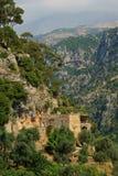 Nossa senhora do monastério de Qannoubine Fotos de Stock Royalty Free