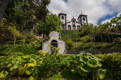 Nossa Senhora do Monte on Madeira. The Church of Nossa Senhora do Monte on Madeira Royalty Free Stock Photos