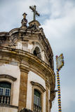Nossa Senhora do Rosario Church Rosary of Blacks - Ouro Preto, Minas Gerais, Brazil. Nossa Senhora do Rosario Church Rosary of Blacks in Ouro Preto, Minas Gerais Stock Images