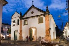 Nossa Senhora do Rosario e Sao Benedito Paraty Stock Photo