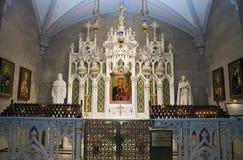 Nossa senhora do santuário de Czestochowa Fotografia de Stock Royalty Free