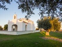 Nossa Senhora dos Remédios Chapel in Esporao, Alentejo region i. N Portugal Royalty Free Stock Photo