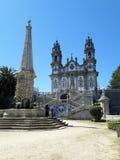 Nossa Senhora dos Remedios. Church of Nossa Senhora dos Remedios at Lamego, Portugal Stock Image