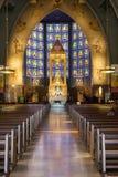 Nossa Senhora fa Rosario de Fatima Church Immagini Stock Libere da Diritti