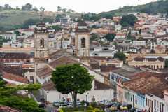 Nossa Senhora faz a catedral Pilar Sao Joao del Rei imagem de stock royalty free