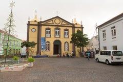 Nossa Senhora gör Rosario Church Arkivfoton