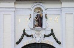 Nossa senhora Statue Bruges Imagens de Stock Royalty Free