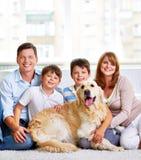 Nosso cão Fotos de Stock Royalty Free