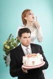 Nosso casamento Imagens de Stock Royalty Free