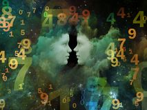 Nosso Lucky Numbers Fotografia de Stock Royalty Free