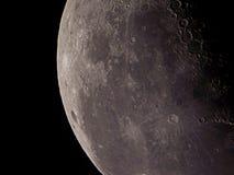 Nosso satélite foto de stock