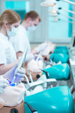 Nossos primeiros pacientes imagem de stock royalty free