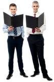 Nossos relatórios de vendas para a reunião mensal imagem de stock