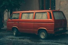 Nostagia汽车1970年 免版税库存图片