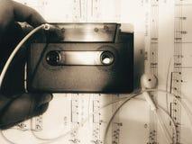 Nostagia van Cassette Royalty-vrije Stock Foto