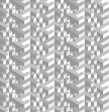 Nostalgia background. Background in nostalgia style of retro 70`s and 80`s - izometric vector seamless patterns with visual illusion effect and granes film Royalty Free Stock Images