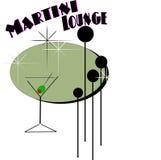 Nostalgia del Martini Immagine Stock