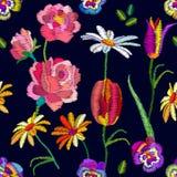 Nostalgia rocznika ogród royalty ilustracja