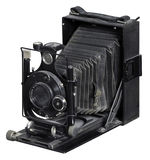 Nostalgic folding camera royalty free stock photo