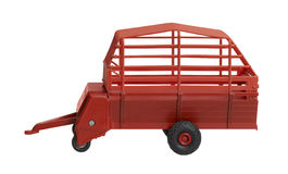 Nostalgic hay wagon toy Stock Photo