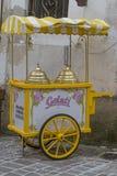 Nostalgic ice cream shop Royalty Free Stock Image