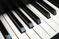 Nostalgic piano keys Royalty Free Stock Photos