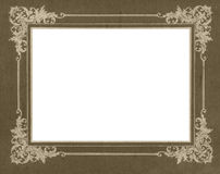 Nostalgic picture mat Royalty Free Stock Photos
