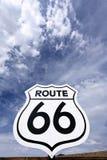 Nostalgic route 66 sign Stock Photography