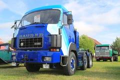 Nostalgic Saurer D330 Truck in Power Truck Show Royalty Free Stock Image