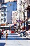 Nostalgic Street of Eminönü, Istanbul Royalty Free Stock Photos