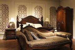 Nostalgic style bedroom design case Royalty Free Stock Photography