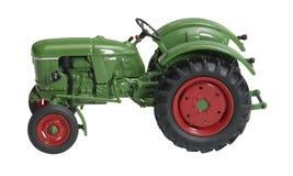 Nostalgic toy tractor Stock Photography