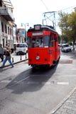 Nostalgic trams of Kadıköy, Istanbul Royalty Free Stock Photos