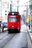 Nostalgic trams of Kadıköy, Istanbul Stock Image