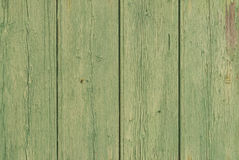 Nostalgic wood background green Royalty Free Stock Image