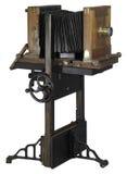 Nostalgic wooden camera Stock Images