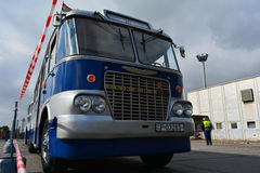 Nostalgie Ikarus-Bus Stockbild