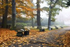 Nostalgie im Park Lizenzfreies Stockfoto