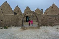 Nostalgiker Harran-Häuser, die Sie wie Sie glauben lassen, leben in a lizenzfreie stockfotos