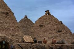 Nostalgiker Harran-Häuser, die Sie wie Sie glauben lassen, leben in a lizenzfreies stockfoto