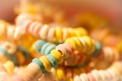 Nostalgische suikerketting in een snoepwinkel royalty-vrije stock afbeelding