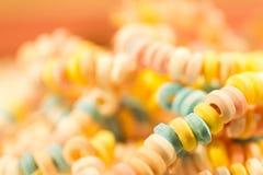 Nostalgische suikerketting in een snoepwinkel royalty-vrije stock foto's