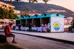 Nostalgisk turkisk sommarstad Royaltyfri Fotografi
