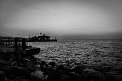Nostalgisk turkisk sommarstad Fotografering för Bildbyråer