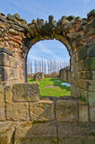 Nostell Priory. Looking through the wall at Nostell Priory Royalty Free Stock Photo