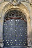 The Nostic Palace in Prague - detail of its doors Royalty Free Stock Photography