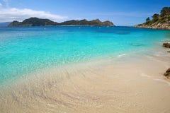 Free Nostra Senora Beach In Islas Cies Islands Of Vigo Royalty Free Stock Images - 127174039